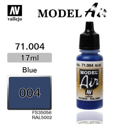 VALLEJO MODEL AIR 71.004 BLEU