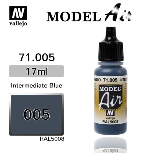 VALLEJO MODEL AIR 71.005 INTERMEDIATE BLUE