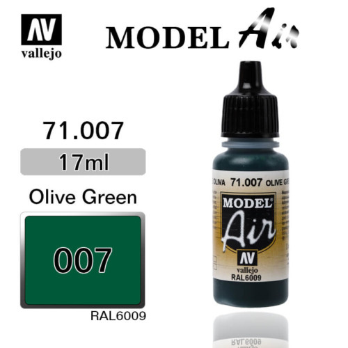 VALLEJO MODEL AIR 71.007 OLIVE GREEN
