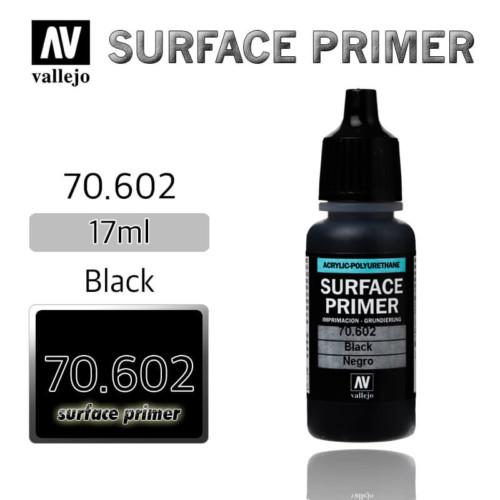 VALLEJO PRIMER 70.602 BLACK 17ml