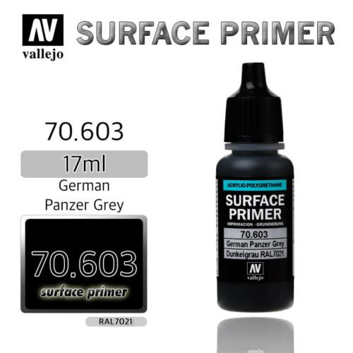 VALLEJO PRIMER 70.603 GERMAN PANZER GREY 17ml