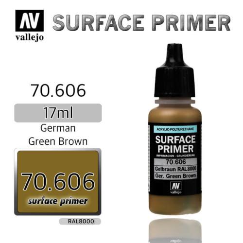 VALLEJO PRIMER 70.606 GERMAN GREEN BROWN 17ml