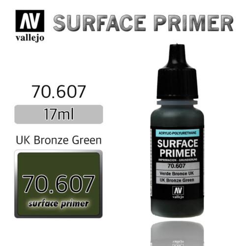 VALLEJO PRIMER 70.607 UK BRONZE GREEN 17ml