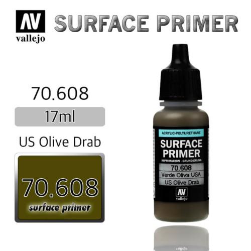 VALLEJO PRIMER 70.608 US OLIVR DRAB 17ml