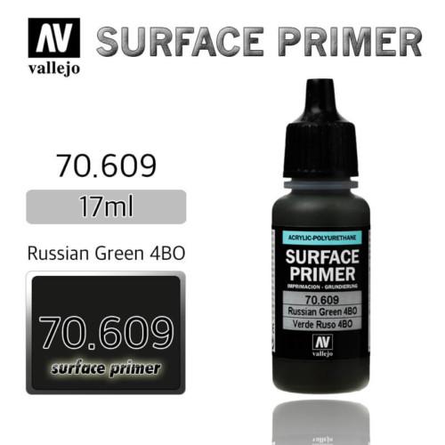 VALLEJO PRIMER 70.609 RUSSIAN GREEN 4BO 17ml