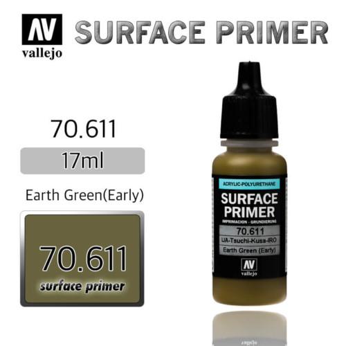 VALLEJO PRIMER 70.611 EARTH GREEN 17ml