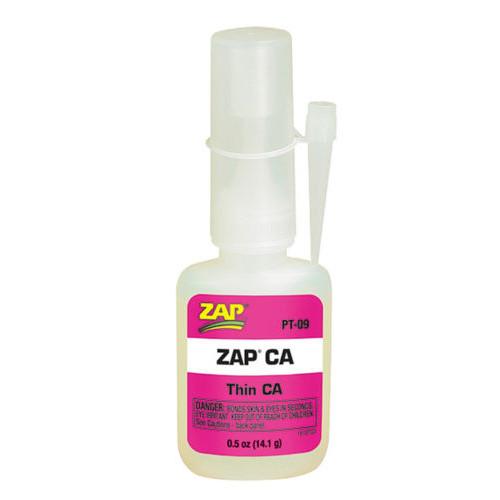 Κυανοακρυλική Κόλλα ZAP CA 0.5oz 14.2ml PT-09
