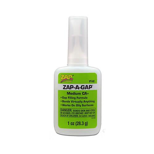 Κυανοακρυλική Κόλλα ZAP-A-GAP CA+1oz 28.3ml PT-02