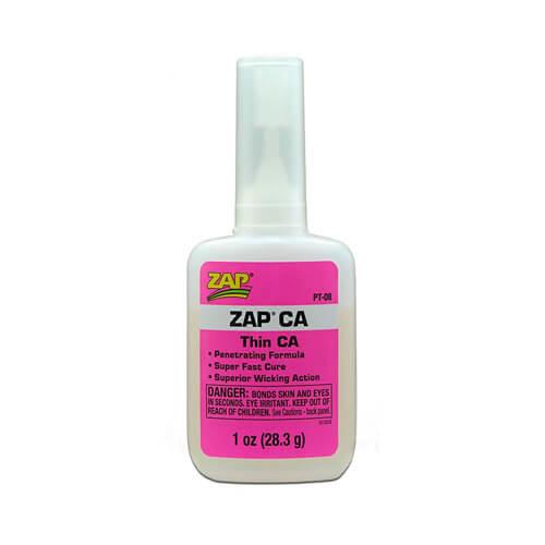 Κυανοακρυλική Κόλλα ZAP CA 1oz 28.3ml PT-08