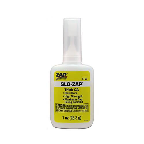 Κυανοακρυλική Κόλλα SLO-ZAP THICK CA 1oz 28.3ml PT-20
