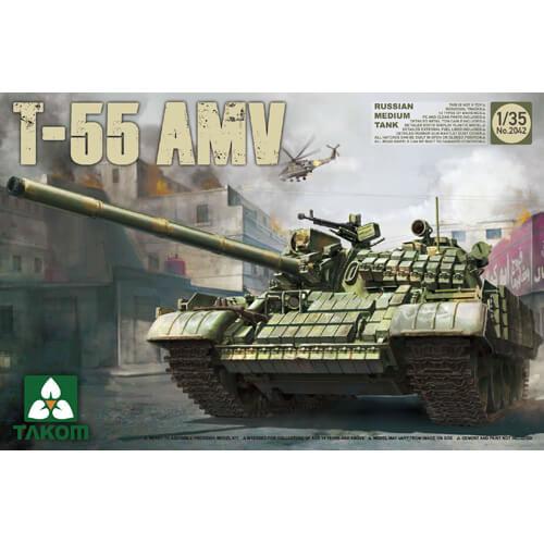 TAKOM 1/35 T-55 AMV