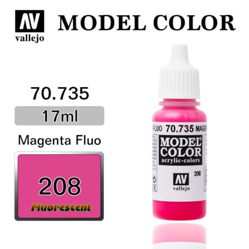 VALLEJO MODEL COLOR 70.735 MAGENTA FLUO