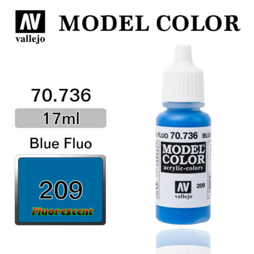 VALLEJO MODEL COLOR 70.736 BLUE FLUO