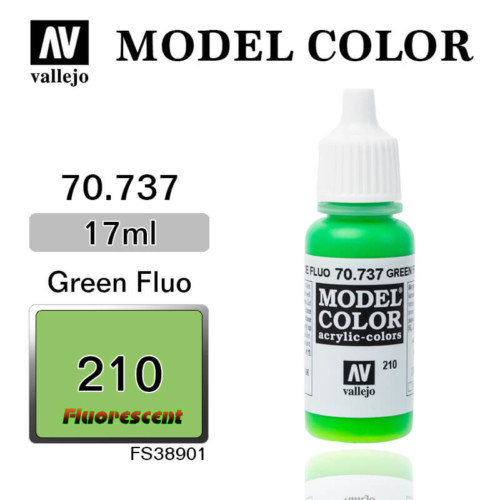 VALLEJO MODEL COLOR 70.737 GREEN FLUO