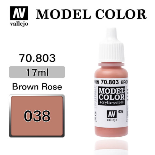 VALLEJO MODEL COLOR 70.803 ROSE BROWN