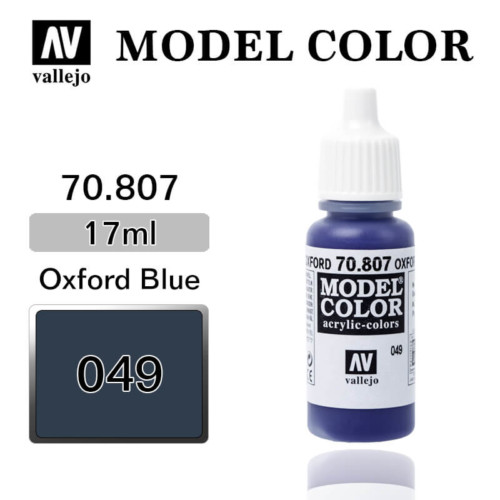 VALLEJO MODEL COLOR 70.807 OXFORD BLUE