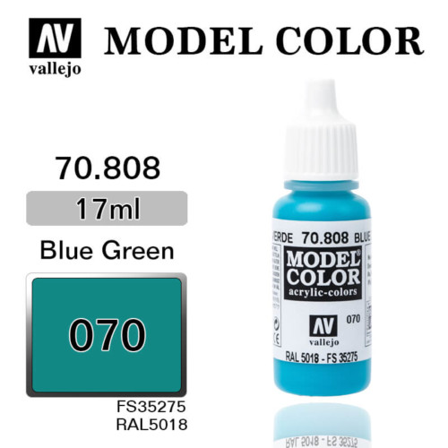 VALLEJO MODEL COLOR 70.808 GREEN BLUE