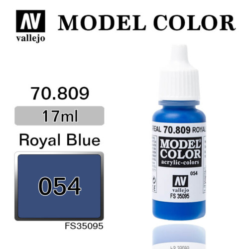 VALLEJO MODEL COLOR 70.809 ROYAL BLUE