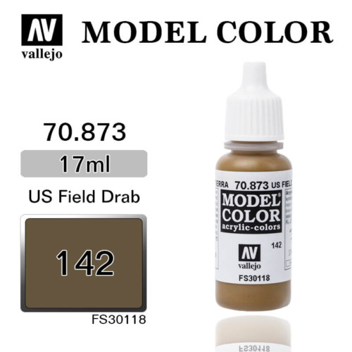 VALLEJO MODEL COLOR 70.873 US FIELD DRAB