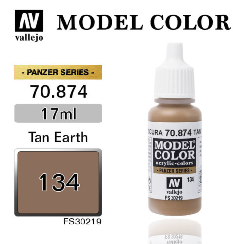 VALLEJO MODEL COLOR 70.874 TAN EARTH