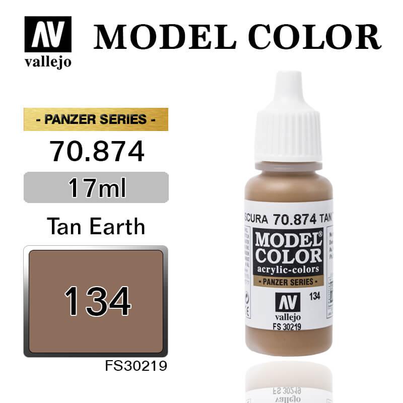 VALLEJO MODEL COLOR 70.874 TAN EARTH