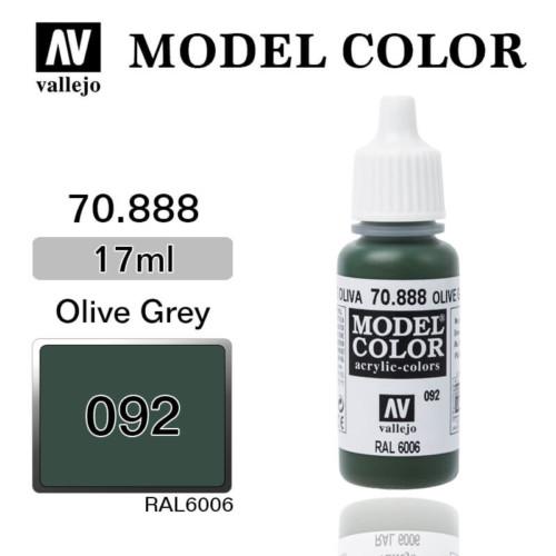 VALLEJO MODEL COLOR 70.888 OLIVE GREY