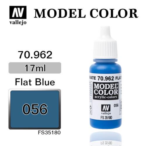 VALLEJO MODEL COLOR 70.962 FLAT BLUE