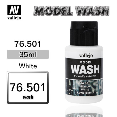 Vallejo Wash 76.501 WHITE