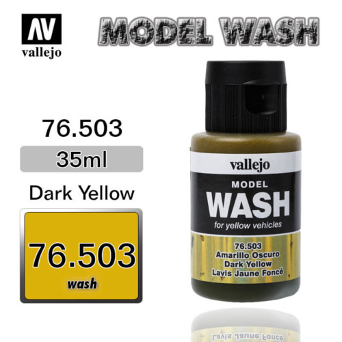 Vallejo Wash 76.503 DARK YELLOW