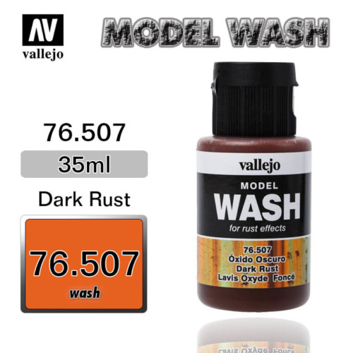 Vallejo Wash 76.507 DARK RUST