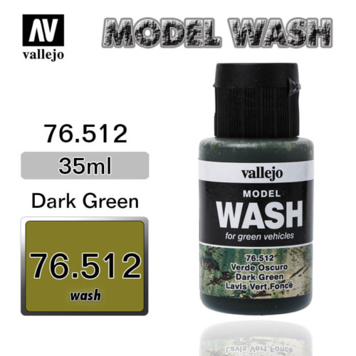 Vallejo Wash 76.512 DARK GREEN