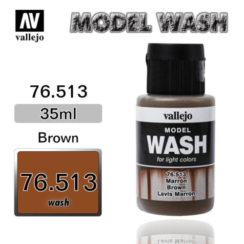 Vallejo Wash 76.513 BROWN