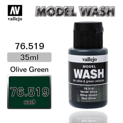 Vallejo Wash 76.519 OLIVE GREEN