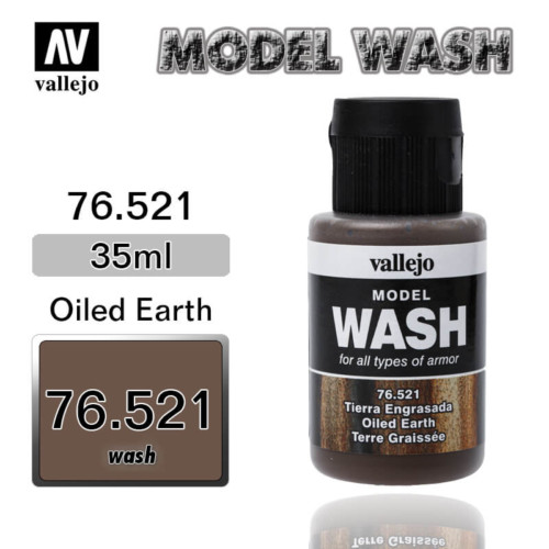Vallejo Wash 76.521 OILED EARTH