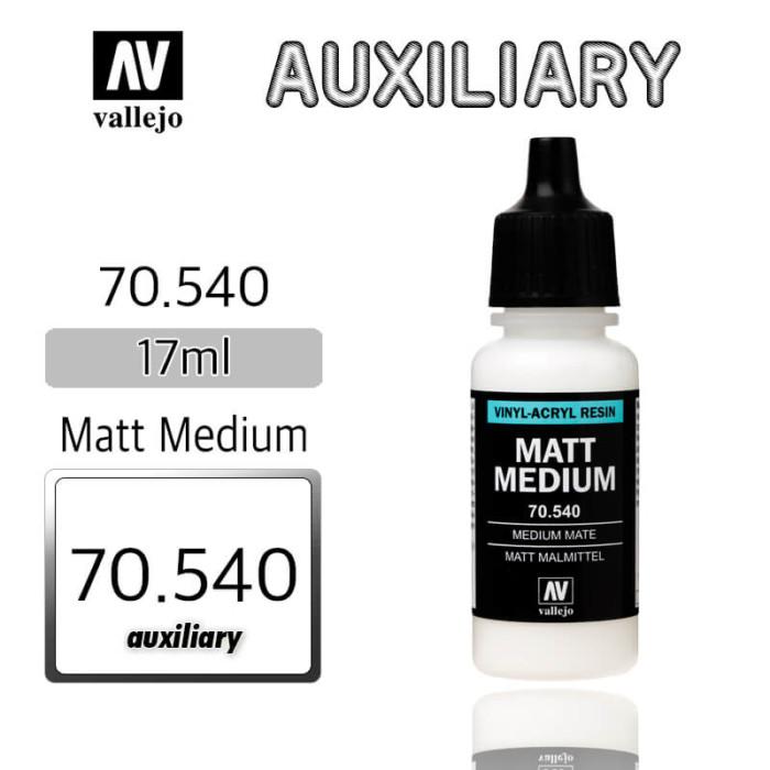 Vallejo Matt Medium 70540