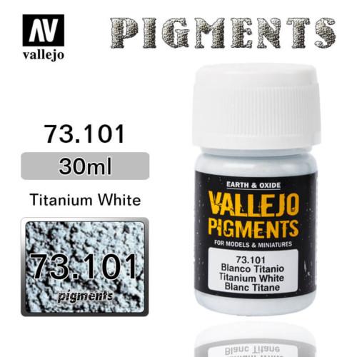 Vallejo Pigment 73.101 TITANIUM WHITE