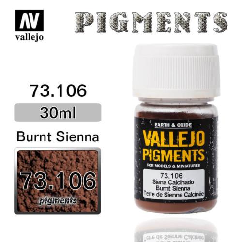 Vallejo Pigment 73.106 BURNT SIENA
