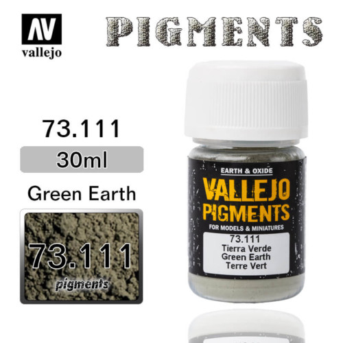 Vallejo Pigment 73.111 GREEN EARTH