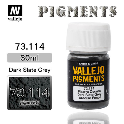 Vallejo Pigment 73.114 DARK SLATE GREY