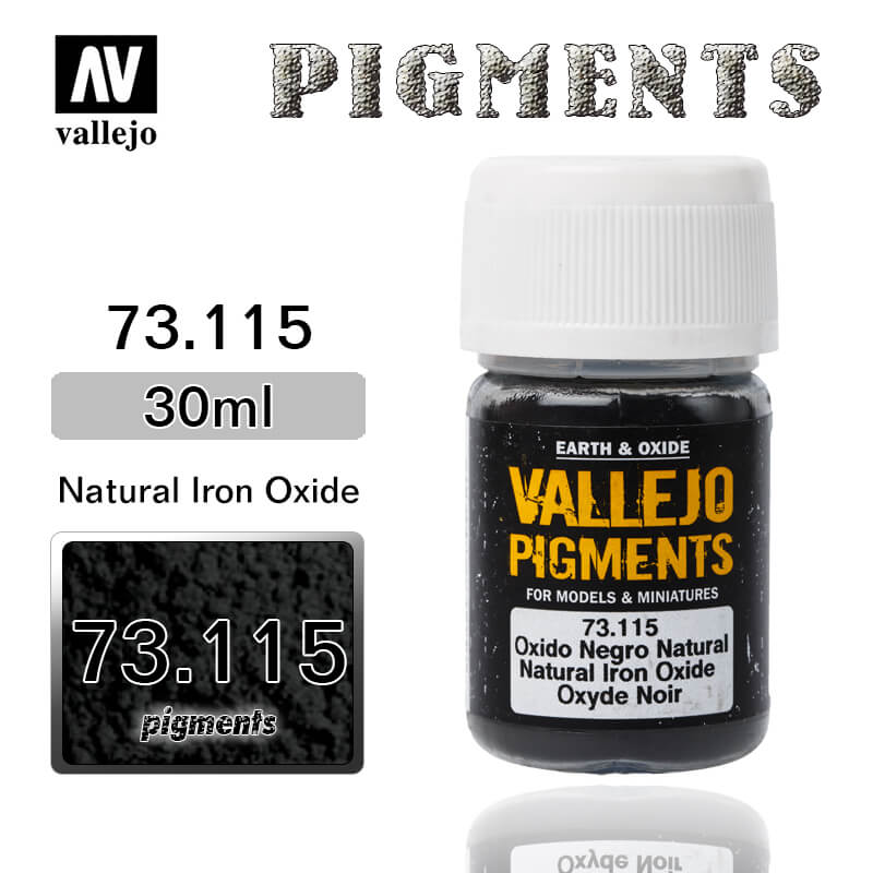 Vallejo Pigment 73.115 NATURAL IRON OXIDE