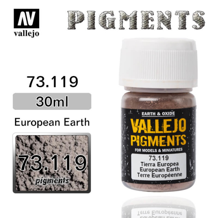 Vallejo Pigment 73.119 EUROPEAN EARTH