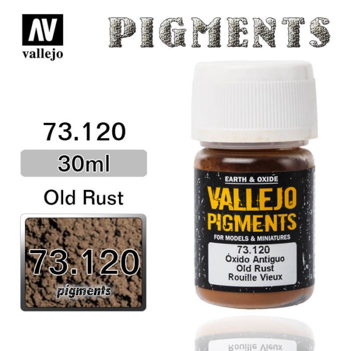 Vallejo Pigment 73.120 OLD RUST