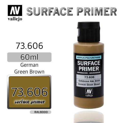 VALLEJO PRIMER 73.606 GERMAN GREEN BROWN 60ml