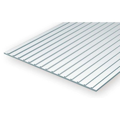 EverGreen Οροφή φύλλο πλαστικού 15x30 cm x 1mm Λευκό