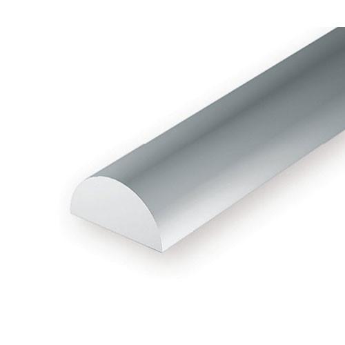 EverGreen Πλαστική Ημικυκλική Ράβδος 35cm Λευκή