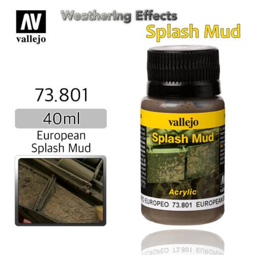 Vallejo 73801 European Splash Mud Weathering Effects