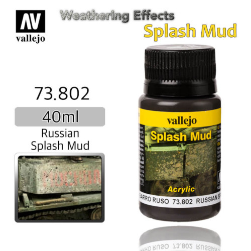 Vallejo 73802 Russian Splash Mud Weathering Effects
