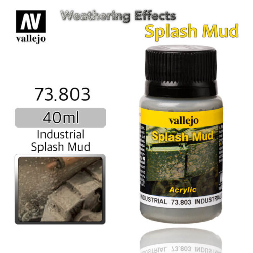Vallejo 73803 Industrial Splash Mud Weathering Effects