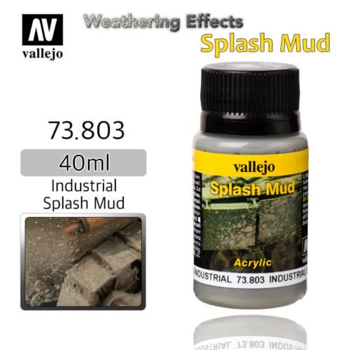 Vallejo 73803 Industrial Splash Mud Weathering Effects