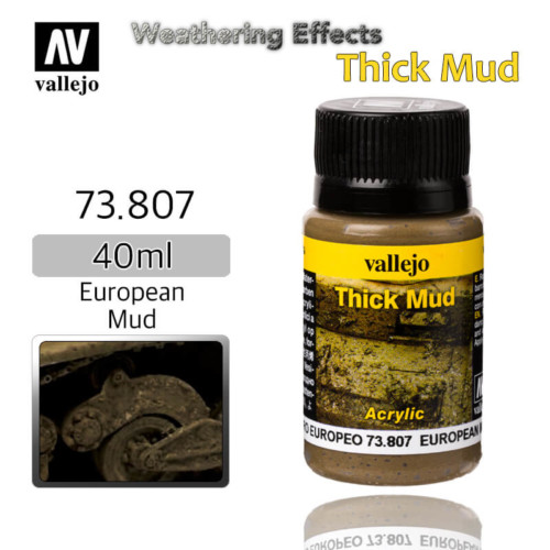 Vallejo 73807 European Thick Mud Weathering Effects